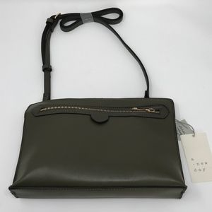 A New Day Clutch Handbag Removable Crossbody Strap